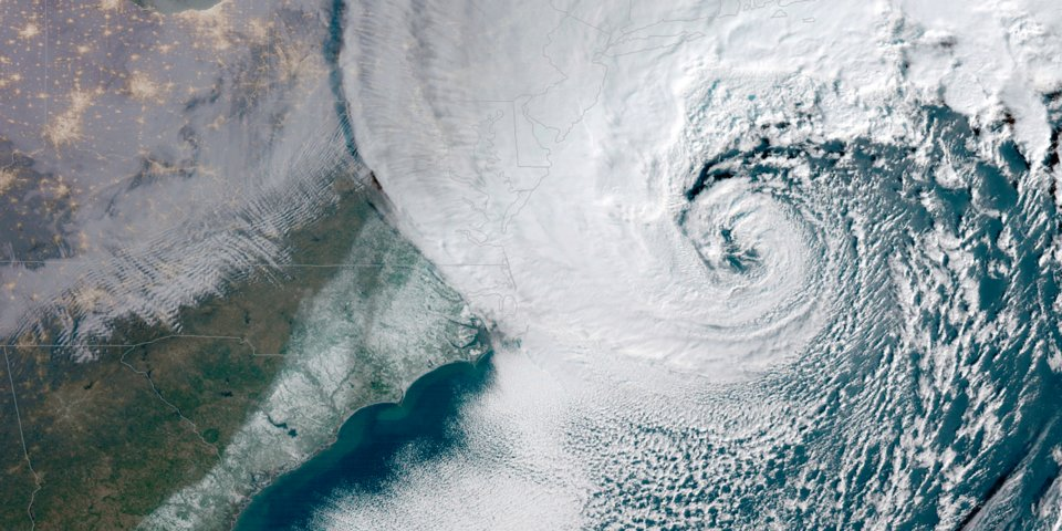 NOAA - Winter Storm Riley