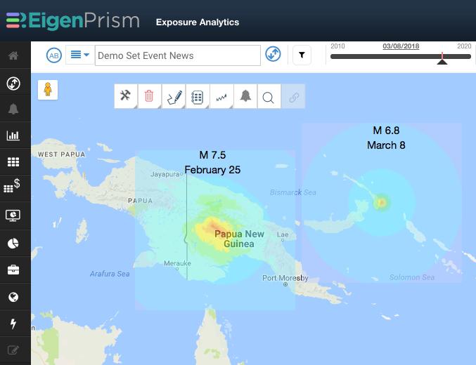 M 6.8 Earthquake in Papua New Guinea