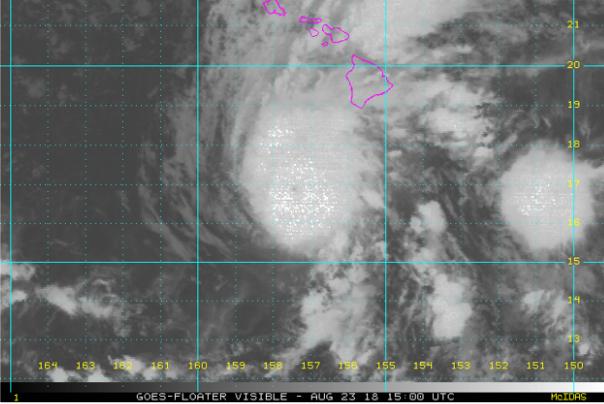 Hurricane Lane update August 23 2018