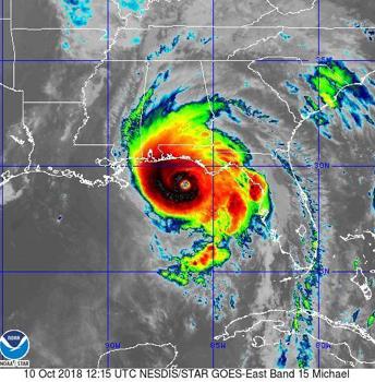 Hurricane Michael 10-10-2018
