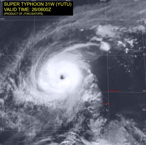 Typhoon Yutu October 26 2018