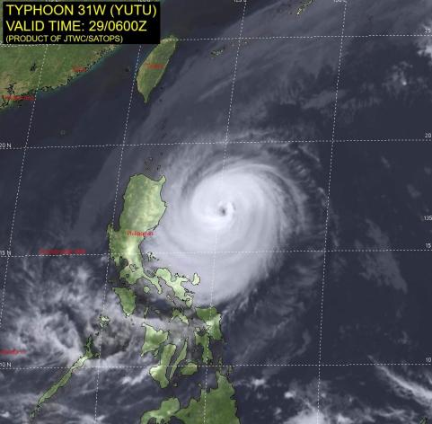 Typhoon Yutu 10-29-2018