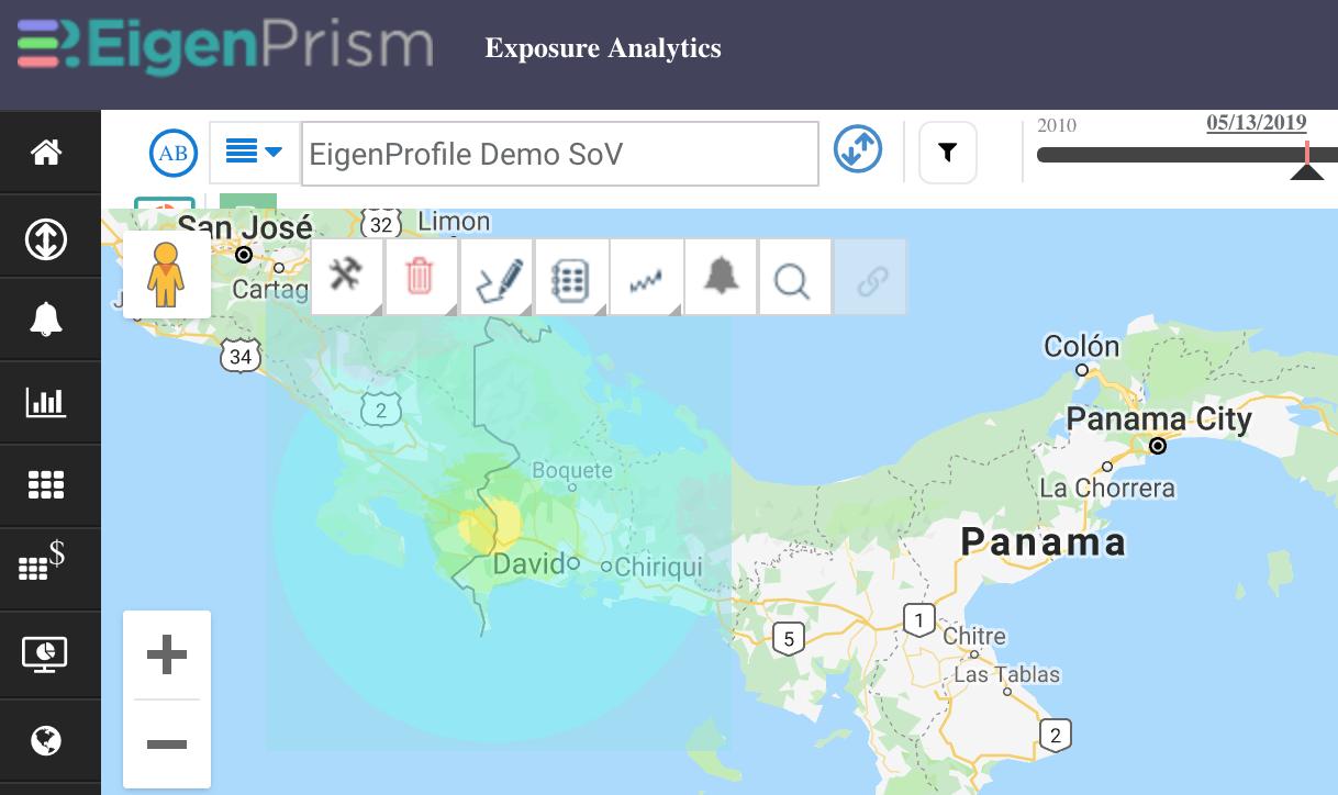 M 6.1 earthquake Costa Rica May 12 2019