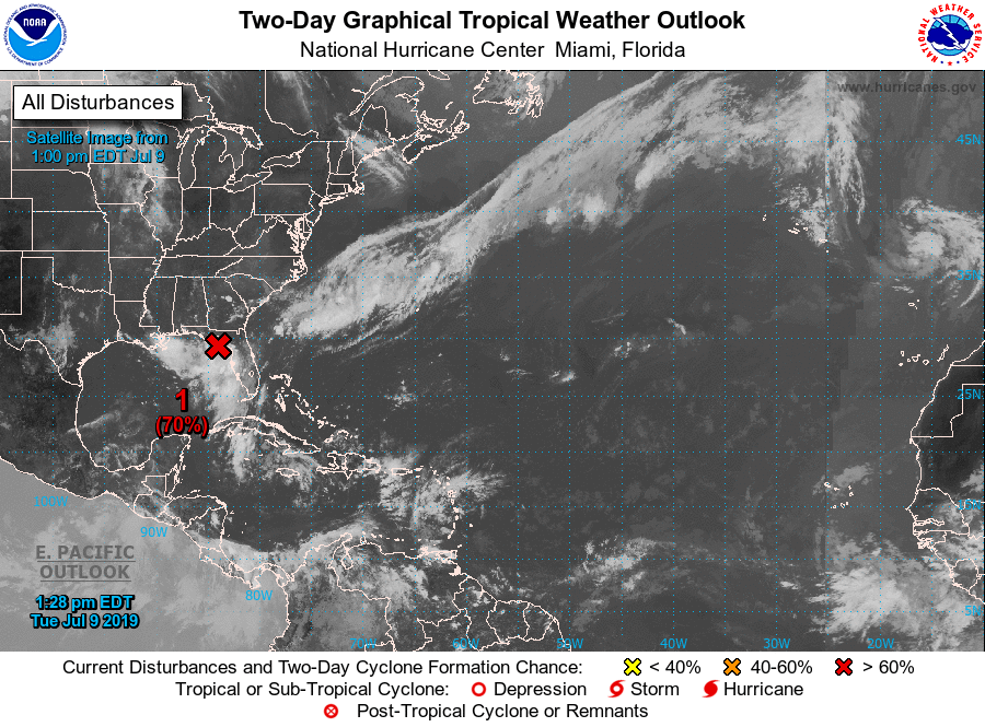 tropical weather outlook 07-09-2019