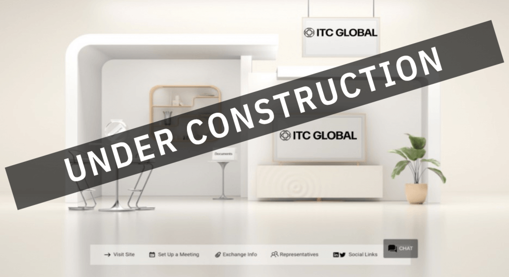 EigenRisk's ITC Global virtual booth - under construction